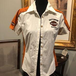 🎃Small HD Button up Shirt